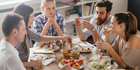 Communal dining can cause a range of problems with cross-eating and food thieves. Photo / iStock