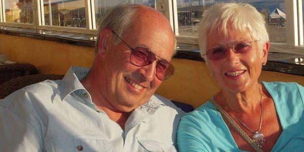 Nigel Edwin Charlton and Cynthia Charlton. Photo / Facebook