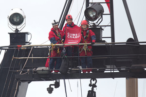 Greenpeace activists convicted but receive no punishment