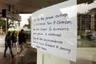 The blackout hit businesses with huge losses. Photo / Jason Oxenham