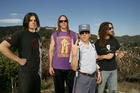 Tool before their second Big Day Out performance.