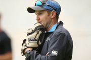Mike Hesson has had plenty on his mind, including the prospect of four-day tests. Photo / Getty