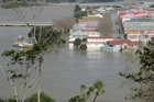 SHARING: The June floods in Whanganui are the driving force behind a concept of a shared water sports centre for the River City.PHOTO/FILE