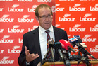 Labour Party leader Andrew Little announcing his reshuffled shadow Cabinet line-up during a press conference at Parliament. Photo / Mark Mitchell