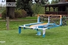 """Almost exactly two years after announcing its plans to deliver packages with a drone, Amazon revealed a new prototype of one of its delivery drones. Amazon's prototype is an octocopter - meaning it has eight propellers and can take off and land vertically, like a helicopter. But the design also includes wings and a """"pusher motor"""" so that it can transition from helicopter takeoffs to the energy-efficient flight of a plane at altitude. A pure octocopter wouldn't be capable of a range of 15 miles, like this prototype. Source: Amazon/YouTube"""