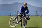 Rangitoto College student and cyclist Bryony Botha. Photo / Brett Phibbs