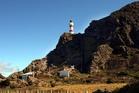 Cape Palliser lighthouse on the South Wairarapa coast. Photo / NZME