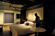 Hotel companies use mock rooms to fine-tune their designs and decide whether existing blueprints are practical and efficient.