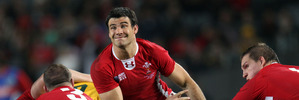 Welsh halfback Mike Phillips has retired from international rugby. Photo / Janna Dixon