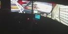Jason Bargwanna drives the Simworx racing simulator