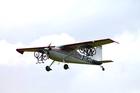 Mit Brereton puts mountain bikes under his plane's wings.