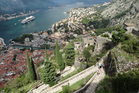 The Venetians held Kotor from 1420 until 1797 and did the most to fortify it. Photo / Carol Smith