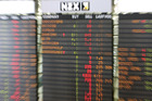 The NZX 50 index fell 15.818 points, or 0.3 per cent, to 5743.995. Photo / File
