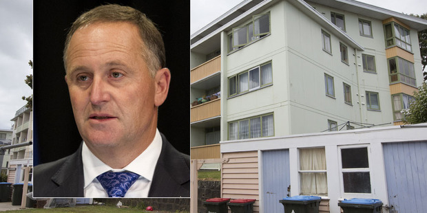 Loading John Key is set to make an announcement today about state housing in his first speech of the year. Photo / Herald file
