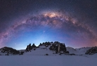 Milky Way puts on display of colour