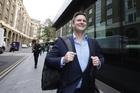 Chris Cairns after the verdict. Photo / Chris Gorman