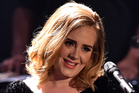 Singer Adele made it to number 7 on the MTV's top artists of the year list. Photo / Getty Images