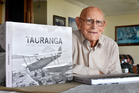 Photographer Alf Rendell, 98, has published a book 'Tauranga from Above'. Photo/George Novak
