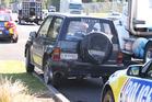 Crash on Takitimu Dr, near Waihi Rd. Photo/John Borren
