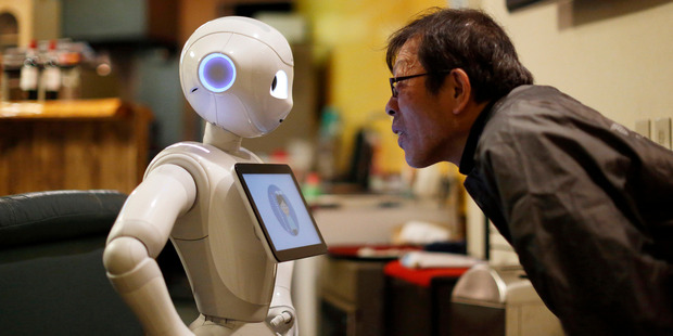 Robots may soon be able to pick up new concepts more efficiently. Photo / Bloomberg