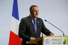 New Zealand's Prime Minister John Key addresses world leaders at the COP21, United Nations Climate Change Conference. Photo / AP