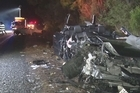 A mother may not make it home for Christmas after a serious crash in northwest Auckland left her fighting for her life.