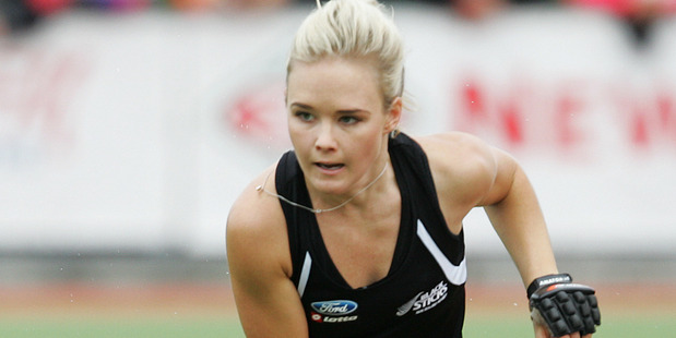 Charlotte Harrison opened the scoring for the Black Sticks.