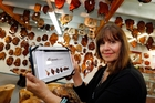 Liz Emett from Kauri Creations and Innovations, Whangarei, where online sales are booming for the Northland business. Photo / John Stone