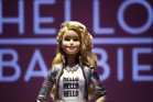 Hello Barbie on display at the Mattel showroom at the North American International Toy Fair in New York. Photo / AP