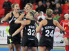 Olivia Merry scored the match-winner to send the Black Sticks into the World League semis.