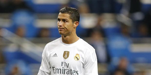 Real Madrid's Cristiano Ronaldo has scord 10 goals this season. Photo / AP