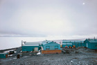 Two members of the New Zealand Antarctic Society are bound for Antarctica today. Photo of Scott Base, New Zealand research base, Ross Island, Antarctica / Getty Images