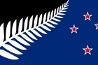 Silver Fern with Southern Cross. Designed by: Kyle Lockwood.
