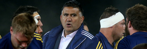 Highlanders coach Jamie Joseph is being lined up by Japan. Photo / Getty