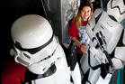 Rotorua's Stephanie Peebles, 23, has been a committed Star Wars fan since she watched the shows as a child.   Photo/Ben Fraser