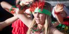 Kids celebrate Kiwi Christmas