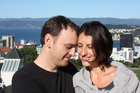 Lecretia Seales with her husband Matt Vickers in 2011 pre surgery. Photo / Supplied