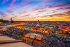 Marrakech's Djemaa el Fna Square. Photo / Supplied