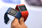 Fitbit Inc. Surge smartwatches at the IFA International Consumer Electronics Show. Photo / Bloomberg