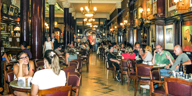 Cafe Tortoni in Buenos Aires. Photo / Supplied