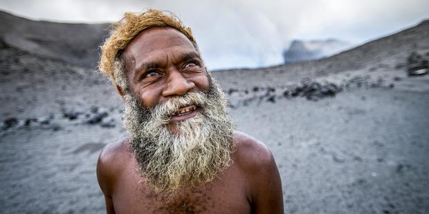 Mt Yasur volcano in Vanuatu. Photo / David Kirkland