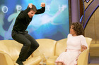 Tom Cruise shocked both Oprah and the world, when he jumped on the couch announcing he was in love with Katie Holmes.