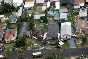 Sydney residents left shaken by tornado