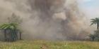 Smoke billows from SH12 fire