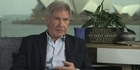 Watch: Harrison Ford happy to be back as Han Solo
