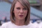 Taylor Swift tells Zane Lowe about her problems with media during her recent trip to New Zealand. Photo/Apple