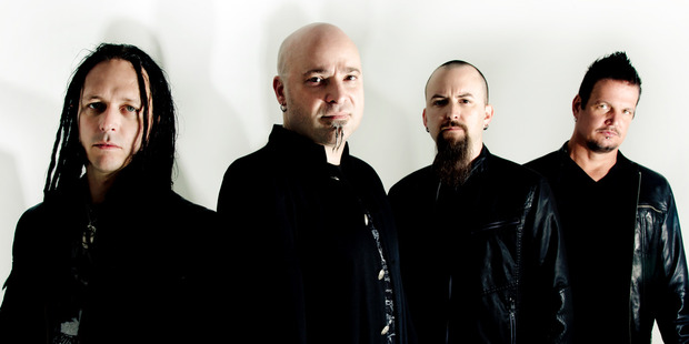 Disturbed will perform in Auckland in November.