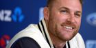 Black Caps skipper Brendon McCullum. Photo / Otago Daily Times