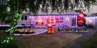 Every year Tremain's Real Estate company sponsors houses in Hawke's Bay to decorate their houses with Christmas themed lights for prizes.