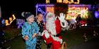 Christmas lights spread the cheer